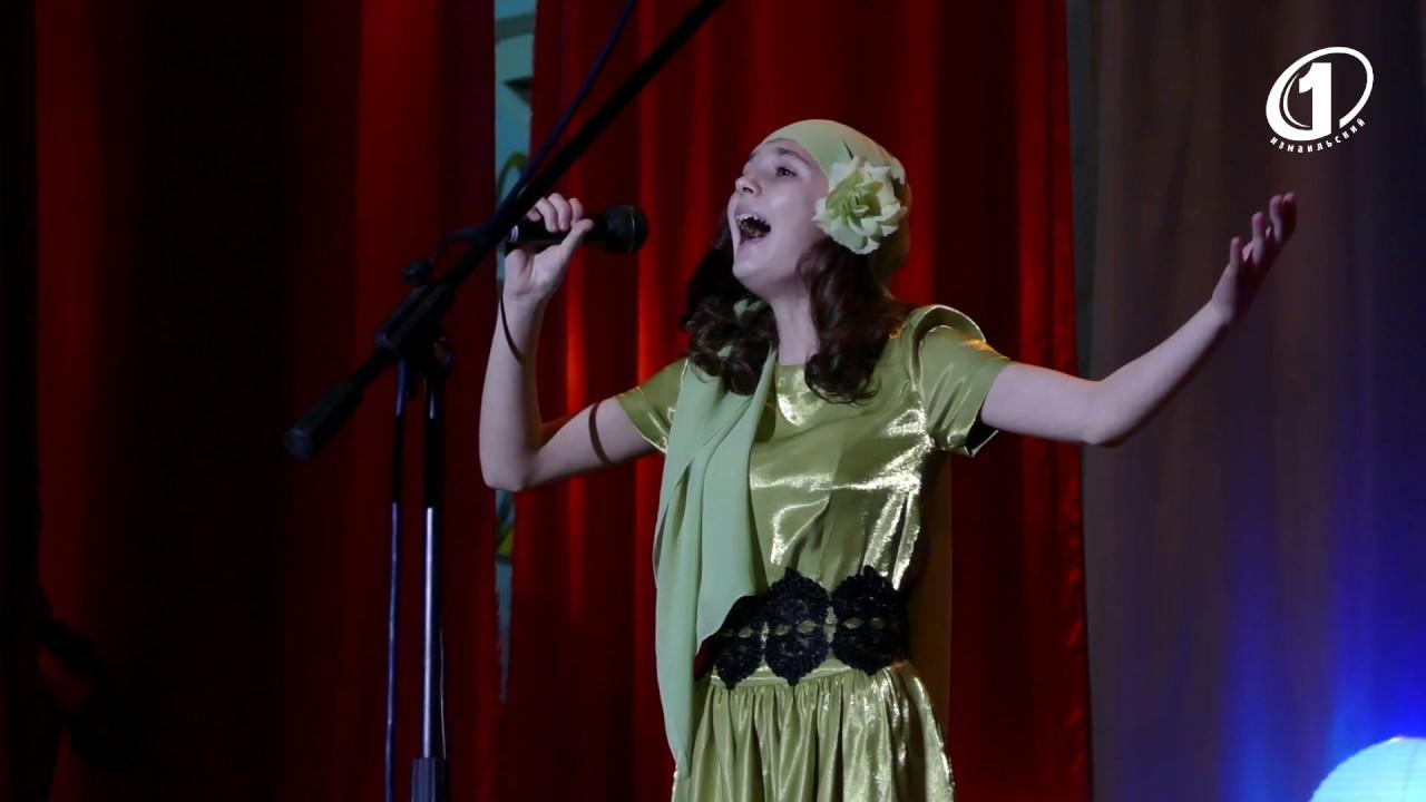 Победительница конкурса вокалистов